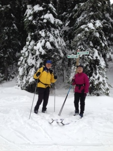 Skiing at Sovereign Lakes